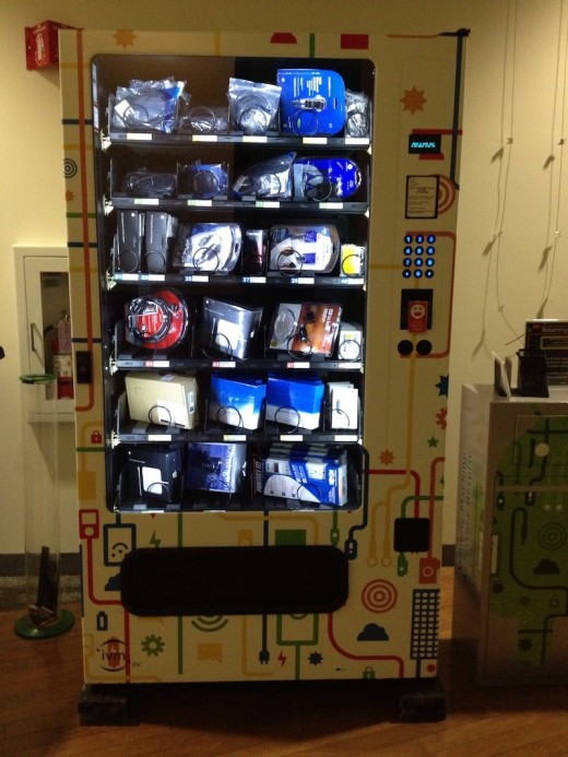 gvend lol: Google Attacked for Copying Facebook Vending Machine