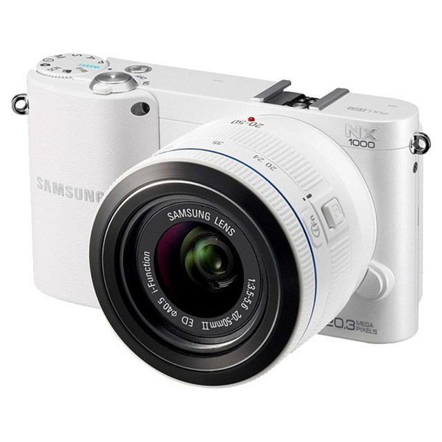 nx-1000-wifi Samsung's New NX Series Mirrorless Cameras With Built-In Wi-Fi