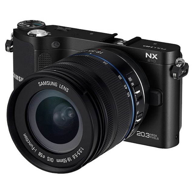 nx-210-wifi Samsung's New NX Series Mirrorless Cameras With Built-In Wi-Fi