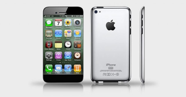 iphone-5-640x336 Insiders Say iPhone 5 Will Feature 4-Inch Display