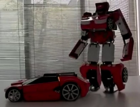 transformer-e1336584239551 Unique Home-Made RC Car Can Fully Transform Into A Robot