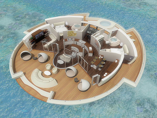 120601-solar6 The Solar-Powered Self-Sustaining Floating Island Resort Concept