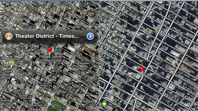 120614-applemaps6 New Apple Maps for iOS 6 vs. Google Maps Comparison