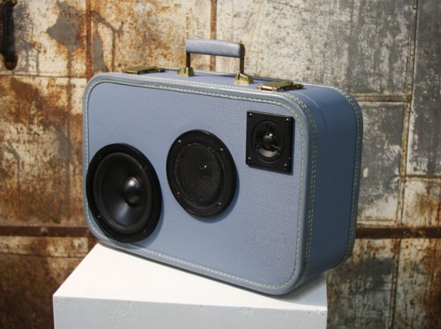 cb4-640x477 Case Of Base Turns Vintage Suitcases Into Unique Portable Boomboxes