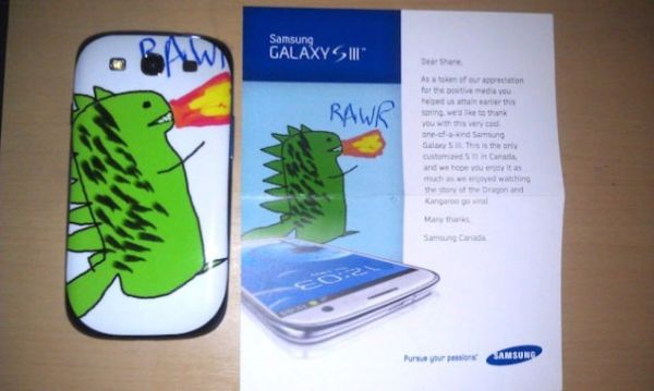 customgalaxy Samsung Canada gives away a one-of-a-kind Galaxy S
