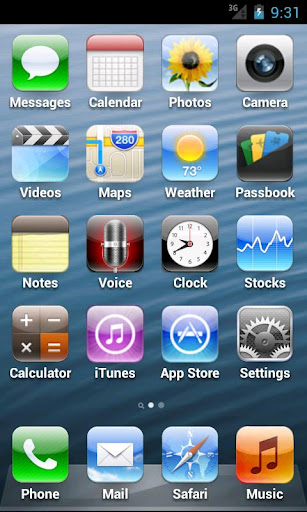 ilaunch iPhone 5 Launcher released for Android