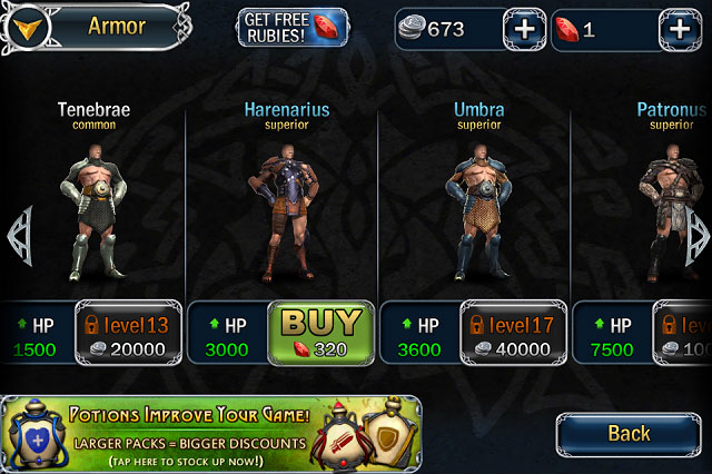 legend3 Blood and Glory Legend Review for iOS