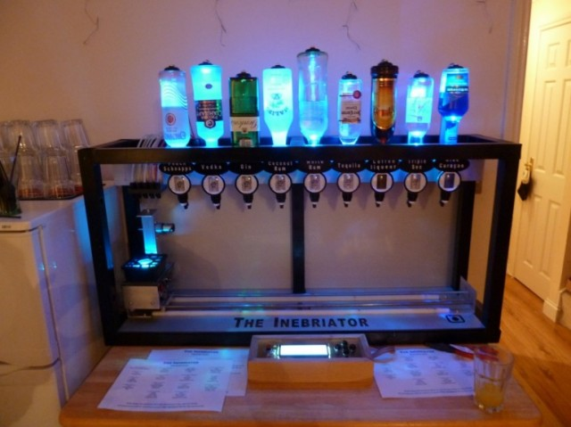 robotdrink-640x479 The Inebriator: Your Own Personal Robot Bartender