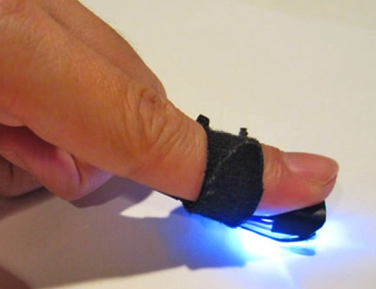 finger-controller Magic Finger Lets You Control Computing Functions from Any Surface