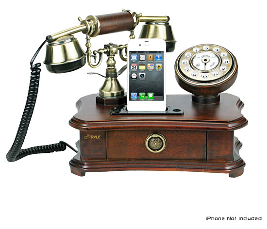 121120-rotary1 The Retro iPhone Rotary Smartphone Dock Grandma Will Love