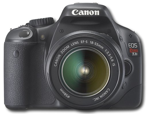 canon-eos-rebel-T2i-digital-slr-camera- Daily Deal: Save $150 on Canon EOS Rebel T2i Two Lens Kit
