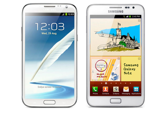 galaxy_note_vs What's Different? Samsung Galaxy Note 2 vs. Galaxy Note