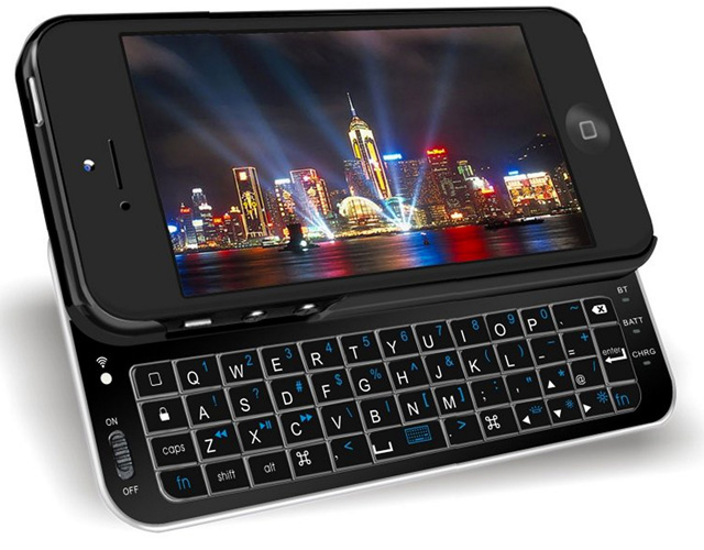 iphone-5-qwerty-keyboard Daily Deal: Apple iPhone 5 Bluetooth Qwerty Keyboard Case for $18