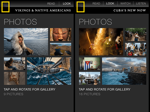 natgeo2 National Geographic Magazine App Review