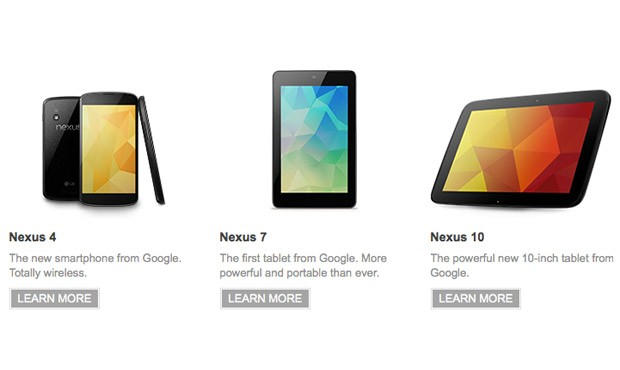 nexfam Nexus 10 and Nexus 4 Already Sold Out In Just About Every Market