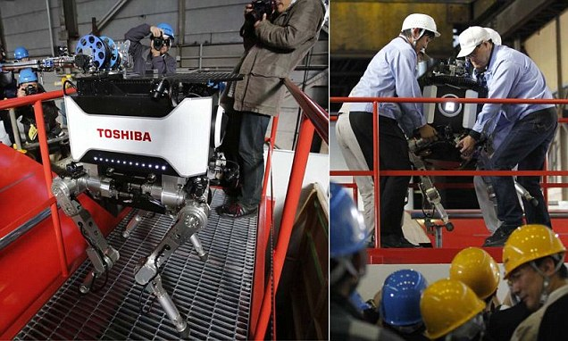 toshiba Toshiba Makes Robot to Aid in Nuclear Emergencies