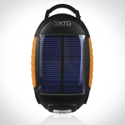 xtg_discount $20 for a Solar Portable Battery Pack with Flashlight