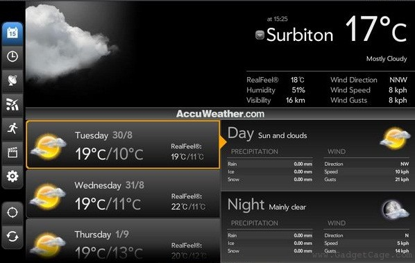 accuweather A Look at Some of the Best Apps for your New Kindle Fire Tablet