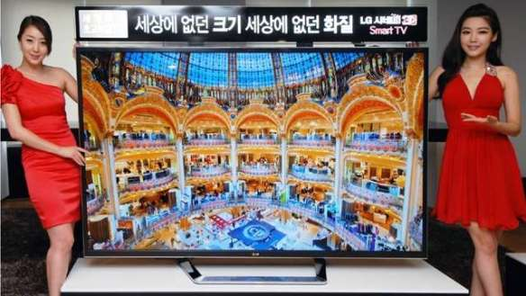 lg_tv LG to Show Off 4K TVs and 1080p Smartphones at CES
