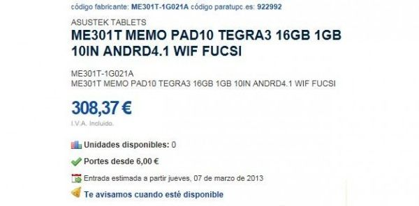 130104-asus1 Tegra3-Powered Asus ME301T MemoPad 10 Leaks Ahead of CES