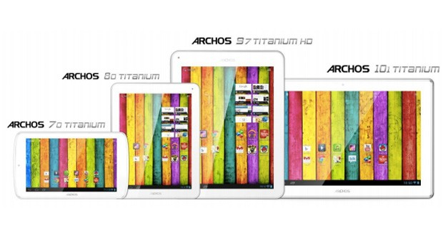 "archos Archos Announces ""Titanium"" Series of Tablets, Brings Jelly Bean For As Little As $119"