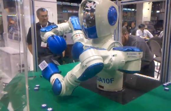 image11 Japan's Blackjack Dealing Robot Shows Off the Future Of Gambling