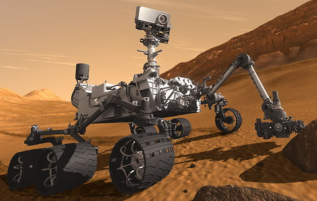 "Mars_Science_Laboratory_Curiosity_rover_cropped Mars Rover Put Into ""Safe Mode"" After Memory Issue"