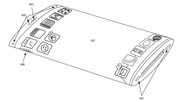 apple-wrap-around-display-iphone-patent New Apple Patent Hints at iPhone of the Future