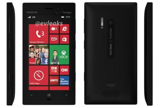 lumia-928-black Verizon Nokia Lumia 928 Leaked
