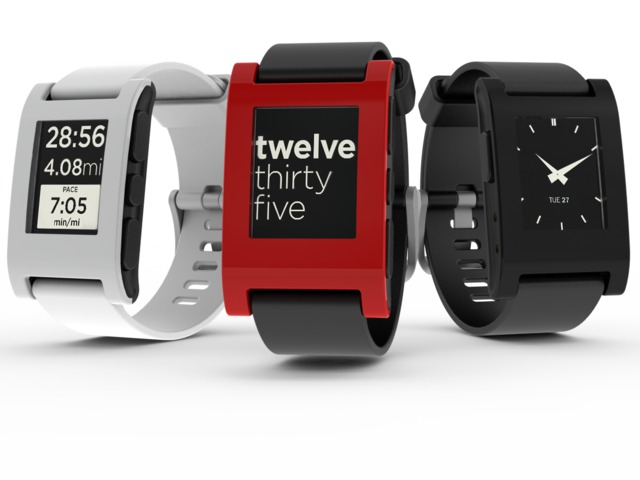 pebble1 ABI Research Suggests 1.2 Million Smart Watches Will Ship By Year's End