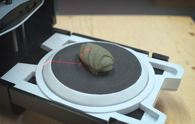photon-3d-scanner Photon 3D Scanner Finishes Its Task In 3 Minutes; Costs Just $443 (Video)