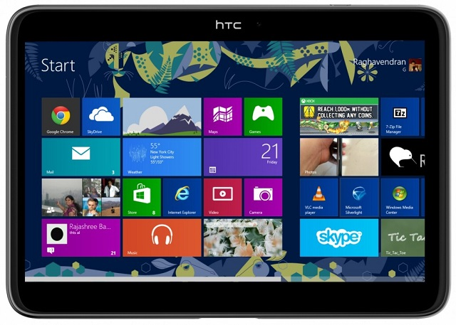 HTC-WIndows-Tablet HTC Windows RT Blue Tablets Might Arrive In October