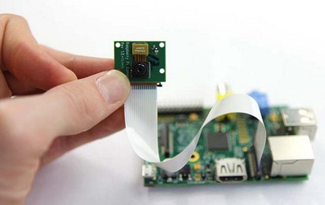 Raspberry-Pi-Camera Raspberry Pi Camera Board (Video)
