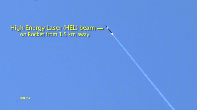 lockheed-martin-adam-1 Lockheed Martin's ADAM High Energy Laser Destroying A Rocket (Video)