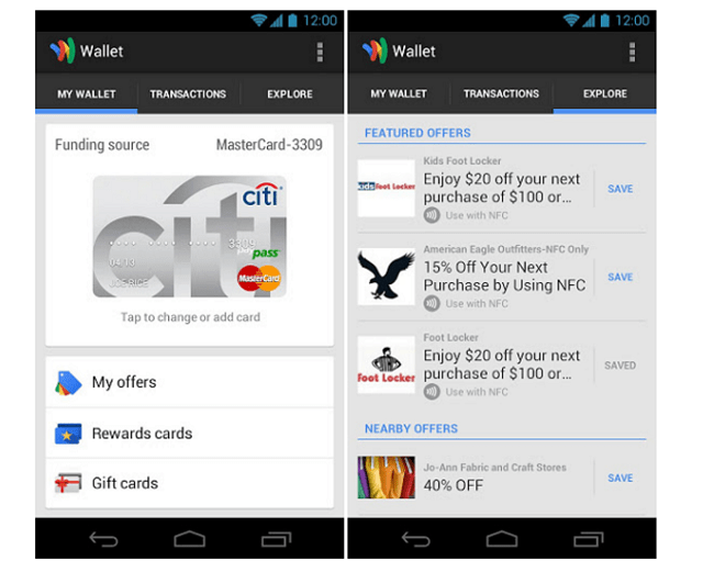 wallet-sprintus Google Wallet Available On More Smartphones (Video)
