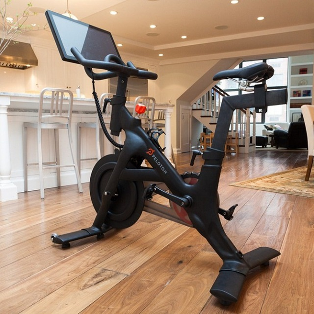 peloton-android Android-Powered Peloton Exercise Bike (Video)
