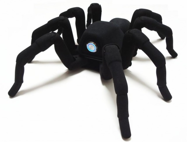 robugtrix-t8 T8 Robot Tarantula Is Incredibly Lifelike (Video)