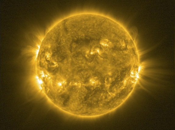 130808-sun Video: Sun's Magnetic Field to Reverse Polarity, Not Cause End of World