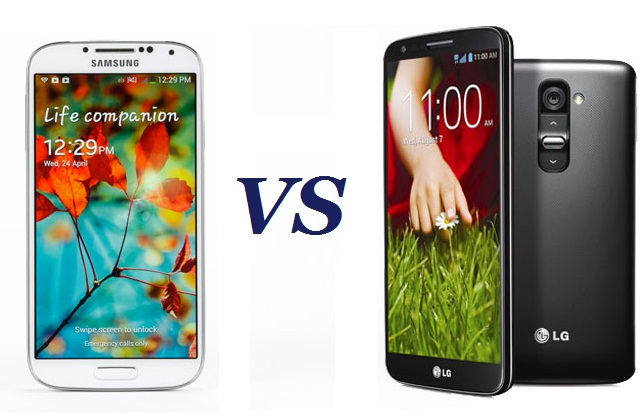 gs4-vs-lgg2 Samsung Galaxy S4 vs LG G2: How do they Stack Up?