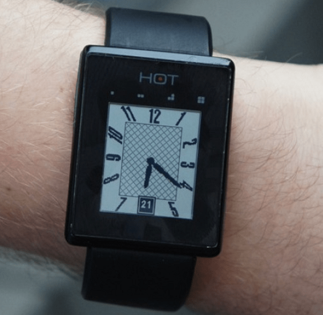 hotwatch Introducing the Hot Watch Smartwatch (Video)