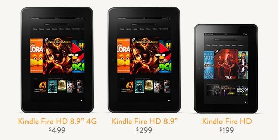 kindlefam Kindle Fire Today Only Sale: Prices as Low as $89! Fire HD 8.9 4G for just $250!