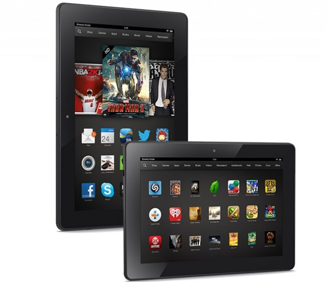 kindle-fire-series-640x552 Kindle Fire HDX and Refreshed HD Model Announced