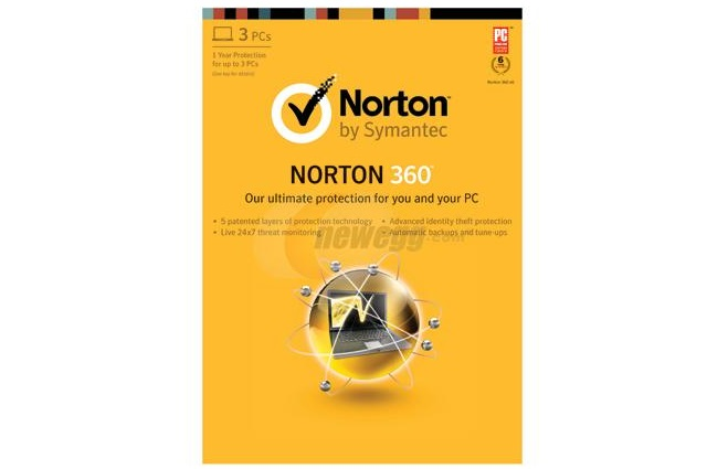 norton Norton 360 2013 3 PC Edition for Free (with mail-in rebate), Even Includes Free 8GB Flash Drive