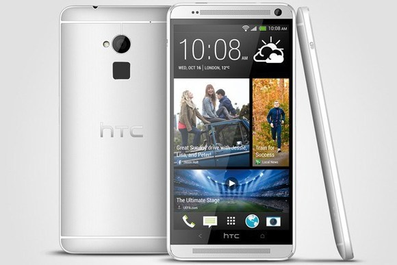 131014-htc HTC One Max Stretches to 5.9-Inches, Boasts Fingerprint Reader