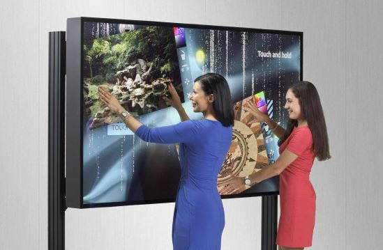 131029-multi Pre-Order Your MultiTouch 84-Inch 4K Interactive Display, Play Massive Angry Birds