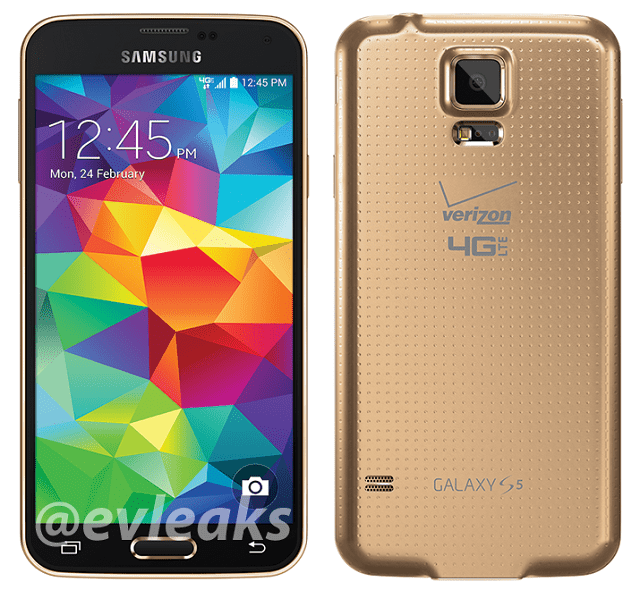 Verizon-galaxy-s5-gold-leak Take A Look At Verizon's Gold Galaxy S5, Even If You Don't Want To Buy It