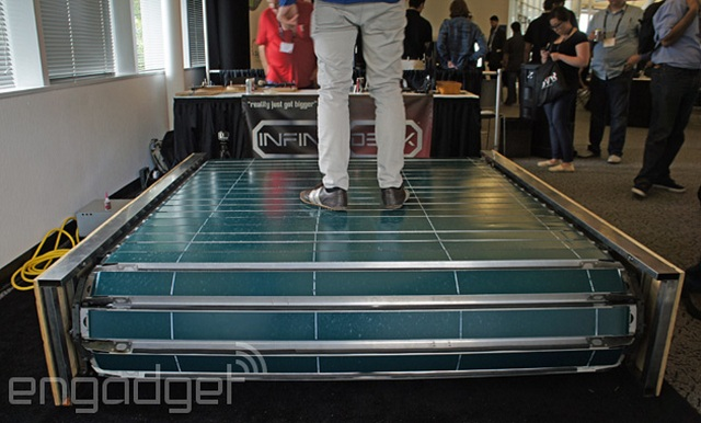infinideck-treadmill Infinadeck: The Omni-Directional Treadmill (Video)