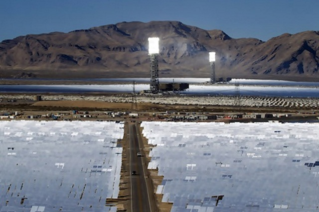ivanpah-solar Ivanpah Solar Power Facility (Photos)