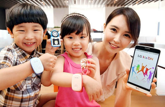 LG_KizON_wearable_kids LG KizON Wristband For Kids
