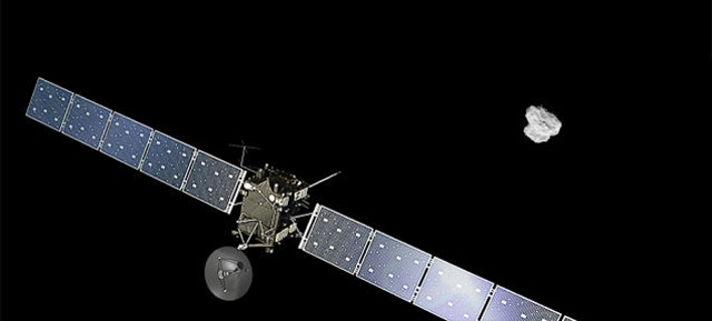 Rosetta-Comet-67P-Churyumov-Gerasimenko Rosetta: First Ever Satellite to Orbit A Comet